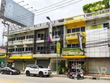 VR Global Property ขายตึกแถว อาคารพาณิชย์ 1 คูหา 4 ชั้น พัทยา ชลบุรี พร้อมเข้าอยู่ ดาดฟ้าพร้อม